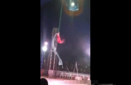 【閲覧注意】サーカスで死亡事故 屋上付近から落下して男性死亡