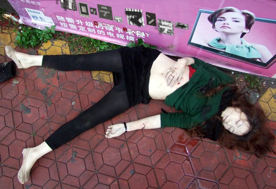 【グロテスク画像】レイプ殺人?自殺?事故死?美人な女の子の死体まとめたったw