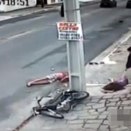 【鳥肌注意】14歳少女が無免許運転→電柱激突→痙攣→死亡 ※動画有り