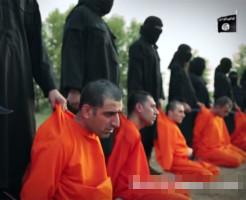 【イスラム国】チキチキ!ISIS対抗囚人の首早切り落としレース!!