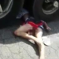 【グロ動画】事故死した18歳少女のマンコからいろいろ出てるんだが・・・