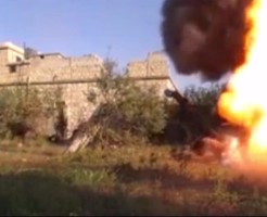 【戦争】近距離に砲弾着弾したらこうなる ※衝撃映像