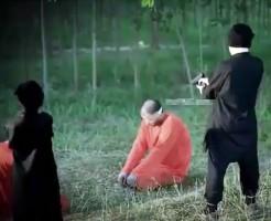 【イスラム処刑】ISISの育成が優秀すぎるwスパイの銃殺処刑はお遣いレベル