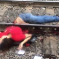 【グロ画像】上下半身きれいに真っ二つになった女の子の死体あったら上と下どっち持って帰る? ※閲覧注意