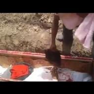 【グロ動画】埋葬前に首切り落とす習慣ある地域で身内の首切り落とせる???
