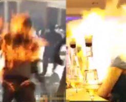 【炎上】体に火がついた瞬間の人間のリアクションを男女別でまとめてみた ※動画