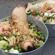 【マフィアグロ】メキシコのカルテルが人間の肉でサラダ作ってくれました 食 え る か ! ※画像、閲覧注意