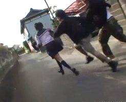【JK レイプ】下校途中の女子校生をスタンガンで脅され犯される事案発生 ※無修正、動画