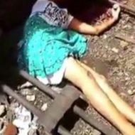 【グロ動画】少女の首なし死体・・・まさかの自殺 ※閲覧注意