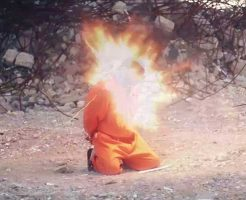 【イスラム国】isisさんの爆弾ネックレス処刑をスローモーションで再生してみた結果 ※グロ動画