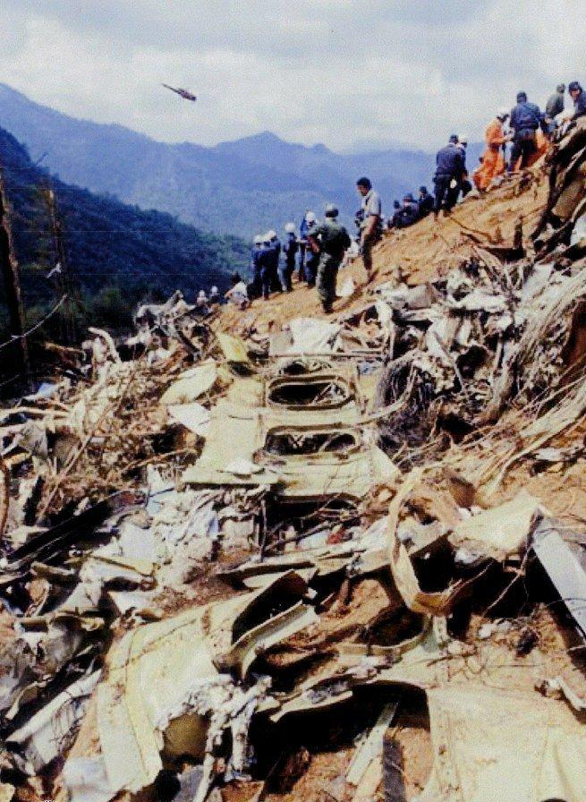 日本航空123便墜落事故 遺体画像