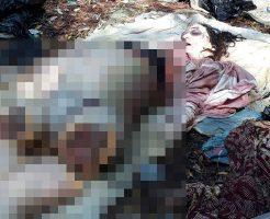 【グロ画像】バラバラに切断された紐パンツの女の死体が水揚げされたんだが股間からナニか出てる…