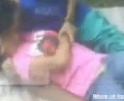 【本物レイプ動画】強姦魔に捕まり押し倒されて脱がされてからチンコぶち込まれた少女さんが可哀想杉内・・・ ※無修正