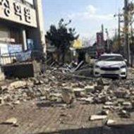 【速報】韓国史上2番目の大地震で大学が倒壊し生徒達がパニックになる瞬間がコレ 尚、震度3の模様www ※衝撃映像