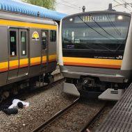 【人身事故】目の前で人が電車に飛び込む瞬間って見たことある??? ※衝撃映像