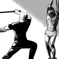【グロ動画】法律が機能していない国で幼女をレイプした男はこうなる 拘束され村人総出で暴行されていく・・・ ※拷問映像