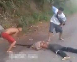 【グロ動画】子供でもマチェット装備で死体蹴りを行う殺人発生件数東京の100倍ベネズエラからの解体映像