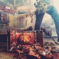 【グロ動画】白昼堂々と人間を解体し見せしめ死体を制作していく映像・・・