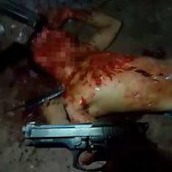 【グロ動画】顔は破壊され 腹は切り裂かれ中身が・・・ ブラジル殺人現場からの映像・・・