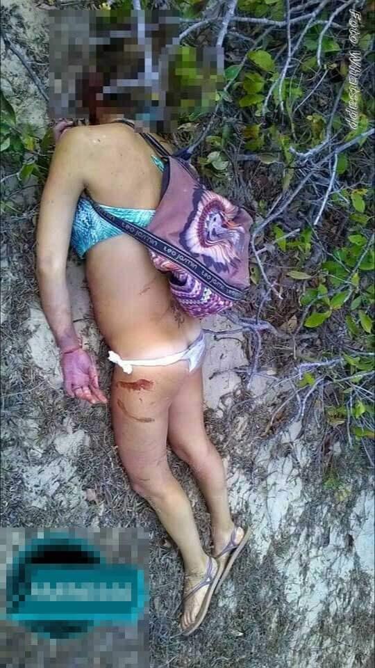 美女死体グロ画像