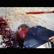 【閲覧注意】振りかぶったナタで首を叩き切る メキシコ麻薬カルテルによる死体解体映像・・・