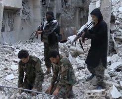 【グロ動画】捕虜にしたシリア兵を処刑 イスラム過激派による無慈悲なヘッドショット