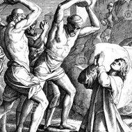 【モブジャスティス】全裸の女にリンチや石打ち拷問 生きたまま火を付け殺害する群衆私刑