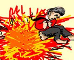 【グロ動画】目の前で爆発に巻き込まれた人達 木っ端微塵に飛んでいく・・・