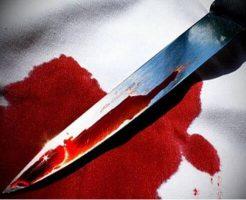 【グロ画像】血まみれ全裸の女の子 おっぱいを入念に刺されて殺害されてた・・・