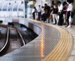 【グロ画像】飛び込み自殺に失敗して電車とホームに挟まれたらこうなる・・・