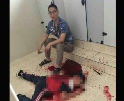 【グロ画像】マジキチお父さん 10歳の娘をイジメた男子児童を学校で追い回して殺害