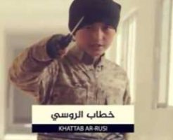 ISIS少年兵がスパイたちを斬首するグロ・ムービーが全開な件・・・閲覧注意