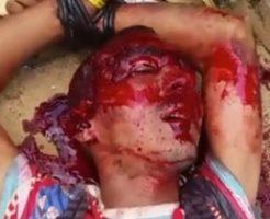【閲覧注意】カルテル組織ナルコスによる残酷に処刑される男性…