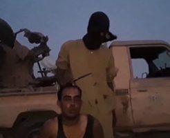 ISISの新しい斬首処刑と戦闘している瞬間の映像