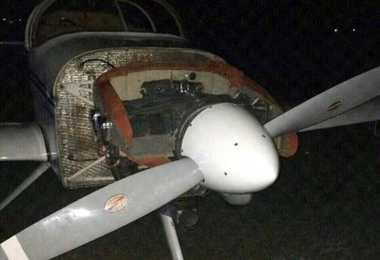 【グロ画像】飛行機のプロペラに当たるとこうなる・・・※超閲覧注意