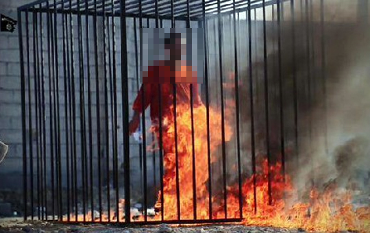 【ISIS速報】イスラム国に拘束されてるヨルダン軍パイロット・・・焼き殺される ※動画あり